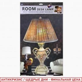 ROOM DECOR AF-9014 Комнатная ЛАМПА+статуэтка попугай 32*47 см (1шт/уп 500 шт/кор)