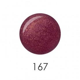 NP001_167 лак для ногтей 12 мл (темный бронзовый) 12 шт/кор 480шт