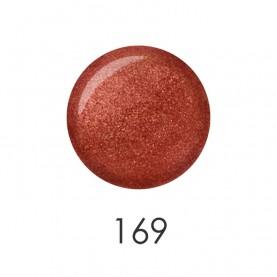 NP001_169 лак для ногтей 12 мл (темно-красный блестящий) 12 шт/кор 480шт