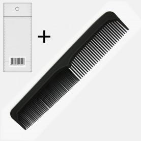 CMB408 ОРР+шк comb расческа ПРОФИ (8712) двухрядка простая 22,5*4,5*3,5 см 24 гр. (уп/12шт в zip 25*35 кор/1200шт)