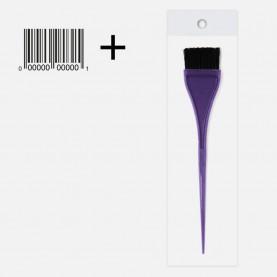 кисть PHB06 OPP+шк для окраски волос цветн 104 sx д20.5 см шир 3,5 см, 9гр. (12шт/уп-1200шт/кор)