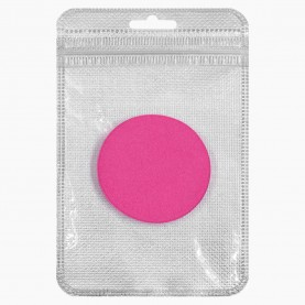 SPN24 ZIP8*13+стикер шк спонж-универсал круглый цветной микс для макияжа диам 5,5 см 3гр. (10 шт/уп 10000/кор)