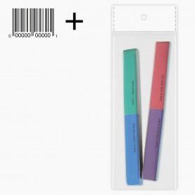 426 набор: 2 шт NB05 полировка 7-сторонняя для ногтей / ОРР+стикер шк (1 наб/уп) 40гр