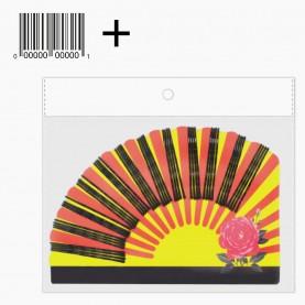 HCL03 ОРР+стикер шк Невидимки для волос на БЛИСТЕРЕ полукруг-веер 16,5*12см по 48 шт, цвет ЧЕРНЫЙ 5,5см, цена за УПАКОВКУ 39 гр (9 блист/уп 360/кор)