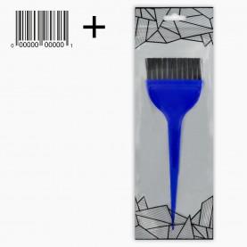 кисть PHB04 кисть для окраски волос (ZIP/абстракц/+шк цветная 1294 406se д21,5\19 *ш5,5\6 см 17 гр.) (12 шт/уп-1200шт/кор)